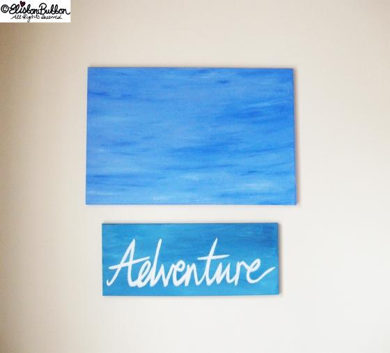 'Always Adventure' at www.elistonbutton.com - Eliston Button - That Crafty Kid