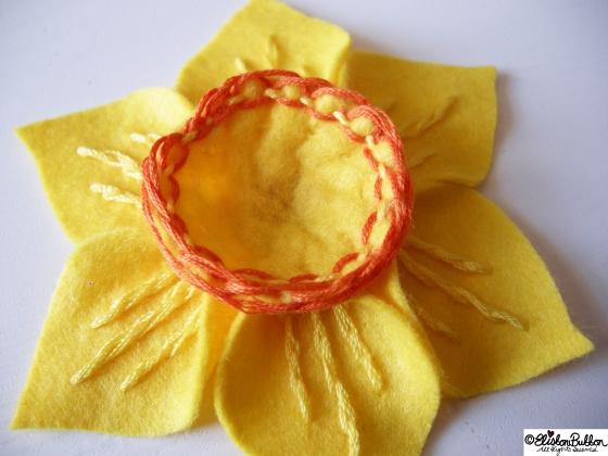 'Spring' is brooch number 10 in the '27 before 27' blog challenge at www.elistonbutton.com - Eliston Button - That Crafty Kid