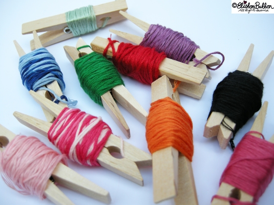 'Workspace Wednesday' – Embroidery Thread Organisation at www.elistonbutton.com - Eliston Button - That Crafty Kid