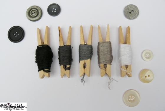 Embroidery Thread Art  at www.elistonbutton.com - Eliston Button - That Crafty Kid
