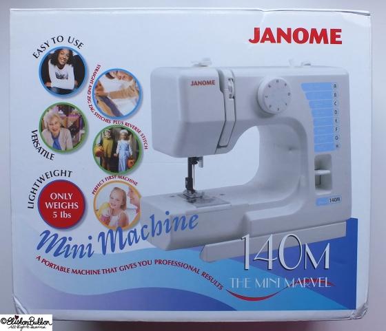 Sew Good! – This Hobbycraft Sewing Machine at www.elistonbutton.com - Eliston Button - That Crafty Kid