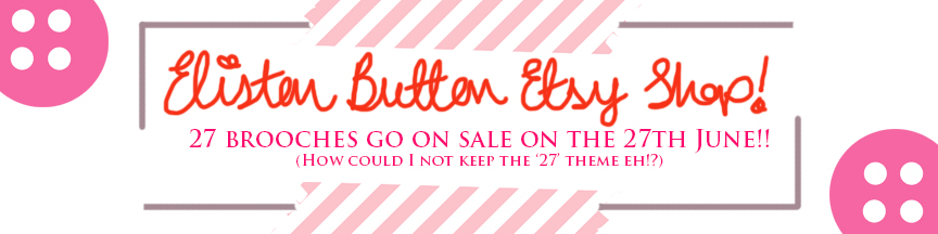 27 before 27 – I Did It! at www.elistonbutton.com - Eliston Button - That Crafty Kid