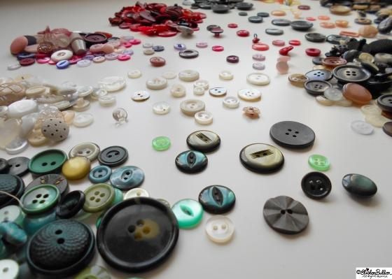 Workspace Wednesday – Button Party at www.elistonbutton.com - Eliston Button - That Crafty Kid