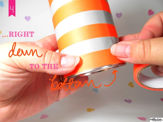 Tutorial Tuesday – Washi Tape Pen Pots at www.elistonbutton.com - Eliston Button - That Crafty Kid