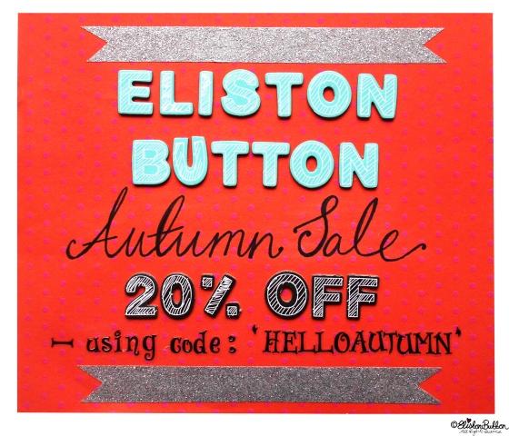 Eliston Button Autumn Sale 2014