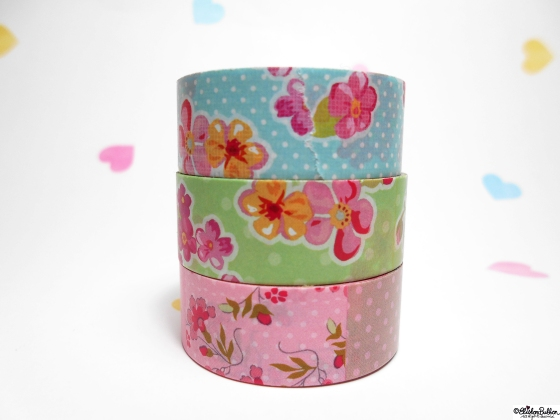 Workspace Wednesday – New Washi Tape at www.elistonbutton.com - Eliston Button - That Crafty Kid
