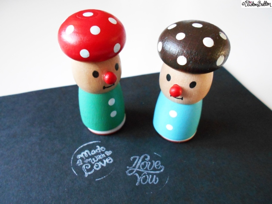Workspace Wednesday – Cute Little Love Stampers at www.elistonbutton.com - Eliston Button - That Crafty Kid