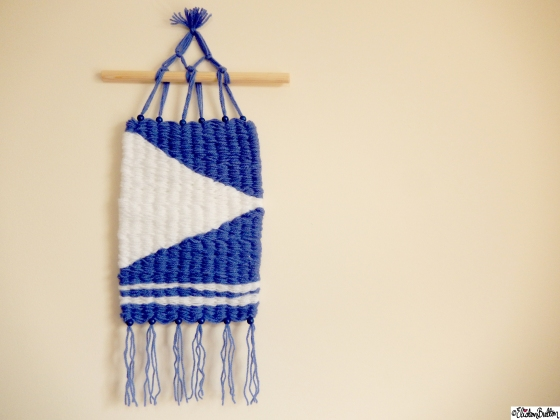 Create 28 - No. 7&8 - Woven Wall Hangings at www.elistonbutton.com - Eliston Button - That Crafty Kid