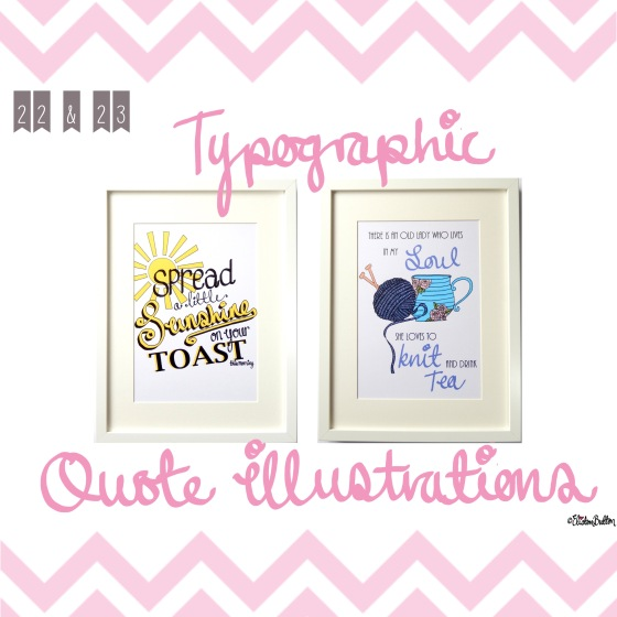 Typographic Quote Illustrations - Create 28 – I Did It! at www.elistonbutton.com - Eliston Button - That Crafty Kid