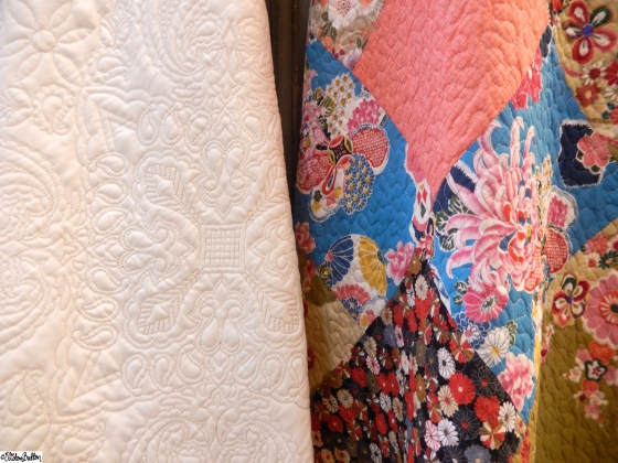 Beautiful Floral Fabric Quilts at Grand Designs Live 2015 – Part Two at www.elistonbutton.com - Eliston Button - That Crafty Kid
