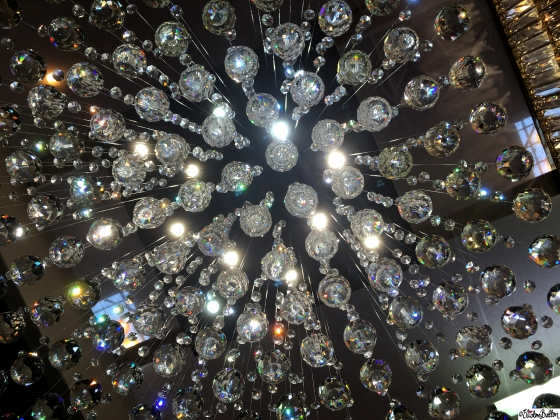 Crystal Hanging Lights - Grand Designs Live 2015 – Part One at www.elistonbutton.com - Eliston Button - That Crafty Kid