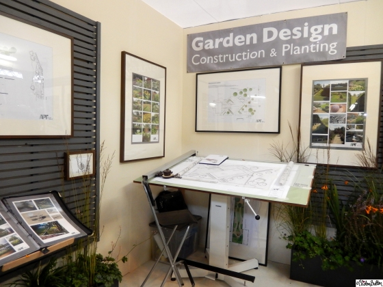 Garden Design Construction and Planning Drawing Board at Grand Designs Live 2015 – Part Two at www.elistonbutton.com - Eliston Button - That Crafty Kid