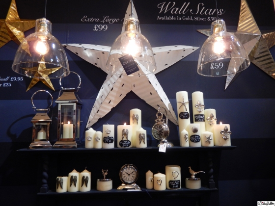 Giant Wall Stars in the Culinary Concepts Booth at Grand Designs Live 2015 – Part Two at www.elistonbutton.com - Eliston Button - That Crafty Kid