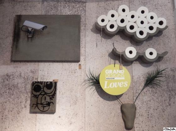 Lyon Beton Concrete Cloud Toilet Paper Shelf at Grand Designs Live 2015 – Part Two at www.elistonbutton.com - Eliston Button - That Crafty Kid