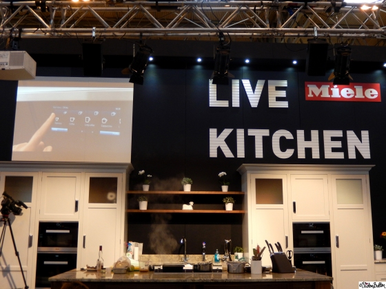 Miele Live Kitchen Stage at Grand Designs Live 2015 – Part Two at www.elistonbutton.com - Eliston Button - That Crafty Kid