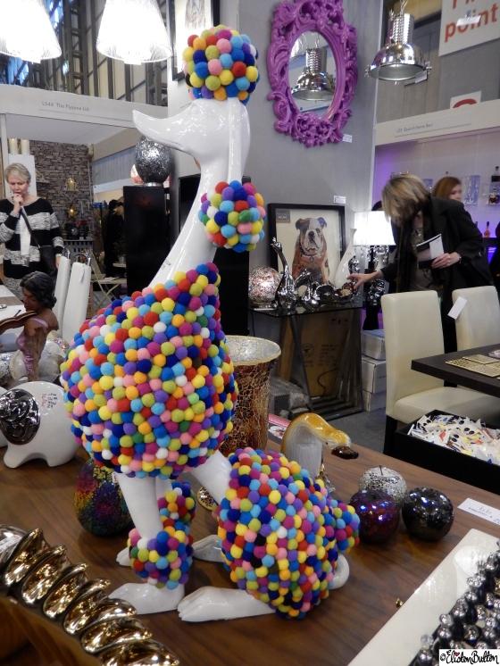 Pom Pom Poodle at Grand Designs Live 2015 – Part Two at www.elistonbutton.com - Eliston Button - That Crafty Kid