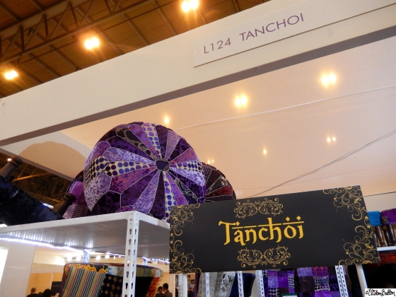 Tanchoi Beautiful Fabric and Furniture at Grand Designs Live 2015 – Part Two at www.elistonbutton.com - Eliston Button - That Crafty Kid