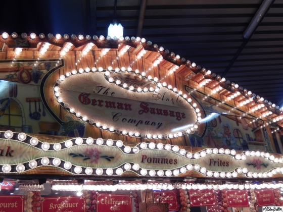 The German Sausage Company Lights - Grand Designs Live 2015 – Part One at www.elistonbutton.com - Eliston Button - That Crafty Kid