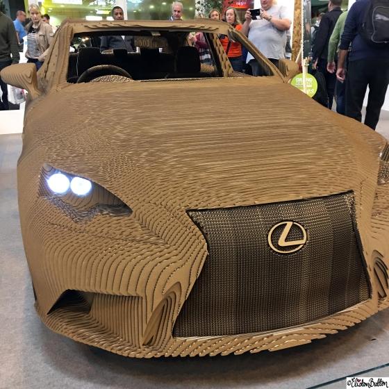 The Lexus Origami Car - Grand Designs Live 2015 – Part One at www.elistonbutton.com - Eliston Button - That Crafty Kid