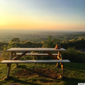 Gorgeous View over Cheltenham from The Rising Sun Hotel on Cleeve Hill, Cheltenham, Gloucestershire, Uk - Around Here…October 2015 at www.elistonbutton.com - Eliston Button - That Crafty Kid