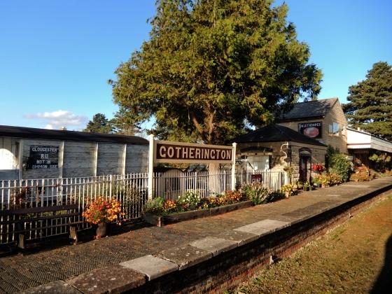 Gloucestershire Warwickshire Steam Railway - Gotherington Station - This Steam Train Stops at Hogwarts…Right!? at www.elistonbutton.com - Eliston Button - That Crafty Kid