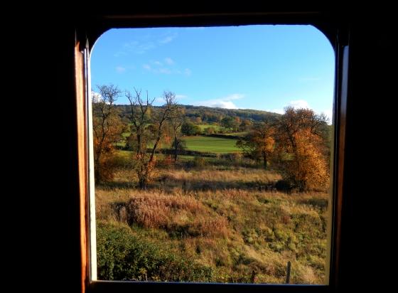 Gloucestershire Warwickshire Steam Railway - Through the Window - This Steam Train Stops at Hogwarts…Right!? at www.elistonbutton.com - Eliston Button - That Crafty Kid
