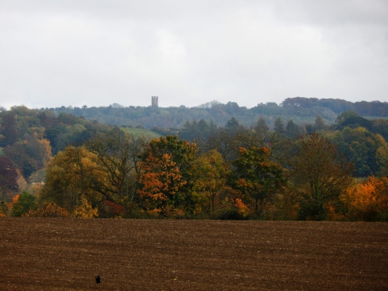 Gloucestershire Warwickshire Steam Railway - View of Broadway Tower - This Steam Train Stops at Hogwarts…Right!? at www.elistonbutton.com - Eliston Button - That Crafty Kid