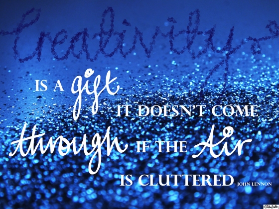 Creativity is a Gift - John Lennon Quote - What a Year! (Merry Christmas & Happy Holidays!)
